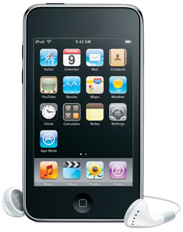 Apple iPod touch 2nd Generation 8 GB |.