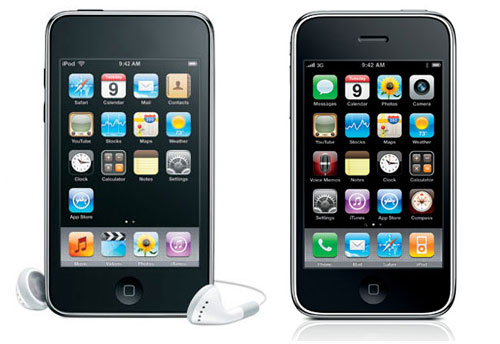 On first glance, the iPod touch 3rd Gen -- which essentially uses the same